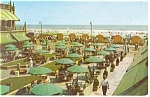 Atlantic City NJ Hotel Dennis Terrace Postcard p14449