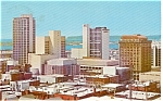 Click here to enlarge image and see more about item p1445: San Diego CA Convention Center Postcard