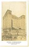 New York City  NY Hotel Commodore Postcard p14479