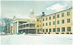 Winter at Lambuth Inn NC Postcard p14483