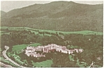 Greenbrier Hotel and Cottages WV Postcard p14484