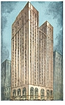 Pittsburgh PA The Pittsburgher Hotel Postcard p14486