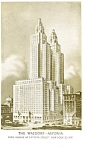 New York City NY Waldorf Astoria Postcard p14489