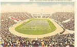 Click here to enlarge image and see more about item p1448: Los Angeles CA Coliseum Postcard p1448