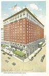 Cleveland, OH, Hotel Statler Postcard 1917