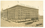 Denver  CO Hotel Shirley Savoy Postcard p14502 Trolley