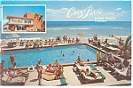 Miami Beach, FL, The New Chez Paree Postcard 1969