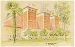 Click here to enlarge image and see more about item p1450: Los Angeles CA Biltmore Hotel Postcard