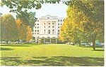 The Greenbrier Hotel Main Entrance Postcard