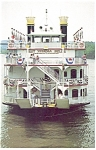 MV West Virginia Belle at South Charleston  WV Postcard p14521