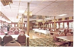 MV West Virginia Belle Dining Salon Postcard p14522