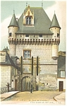 Tours,France La Porte des Cordeliers Postcard 1918