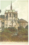 Amboise,France La Chapelle du Chateau Postcard 1918