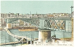 Brest,France-La Pont National-National Bridge Postcard