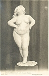 Tours,France-Une Danseuse Musee De Tours Postcard