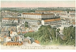Click here to enlarge image and see more about item p14567: Brest, France-Barracks of French Navy Postcard