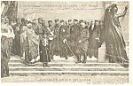 Pantheon De La Guerre Alliance Russe France Postcard p14570 1918