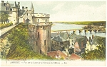 Amboise,France-View of the Loire River Postcard 1918