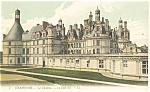 Chambord, France-Le Chatea-Le Cote Est Postcard 1918