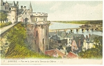 Amboise, France-View of Loire River Postcard