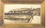Click here to enlarge image and see more about item p14580: Chinon France-The Castle Postcard