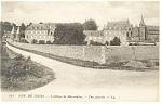Tours, France-L'Abbaye de Marmoulier Postcard