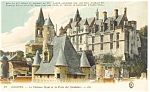 Loches, France-Le Chateau Royal Postcard