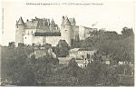 Chateau de Luynes, French Postcard