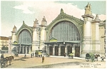 Tours France Railroad Station Postcard p14594 1918
