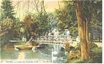 Tours, France-Jardin des Prebendes d'Oe Postcard