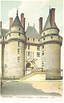 Langeals, France-L'Entree du Chateau Postcard