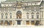 Tours, France-The Municipal Theatre Postcard