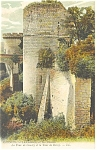 Chinon, France-La Tour de Condry Postcard