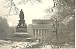 Click here to enlarge image and see more about item p14812: Statue Russian Postcard