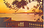Click here to enlarge image and see more about item p14832: Venezuela Sunset Postcard