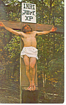 Click here to enlarge image and see more about item p14840: Great Passion Play Eureka Springs  AR Postcard p14840