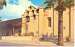 Click here to enlarge image and see more about item p14850: Mission San Gabriel  Arcangel Postcard p14850