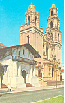 Click here to enlarge image and see more about item p14852: Mission Delores San Francisco CA Postcard p14852