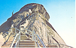 Click here to enlarge image and see more about item p14856: Sequoia National Park,CA, Moro Rock Postcard