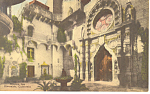 Mission Inn CA   Hand Colored Postcard p14860