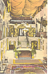 Mission Inn, CA, Hand Colored Postcard