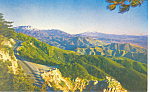 Rim o World Highway California Postcard