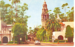 Click here to enlarge image and see more about item p14864: Balboa Park, San Diego, CA Postcard
