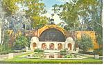 Balboa Park, San Diego, CA Postcard