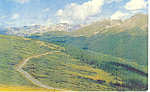 Rocky Mountain National Park CO Postcard p14882