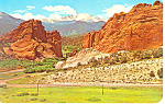 Gateway,Garden Of The Gods, CO Postcard