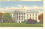 White House South Front Washington, DC Postcard