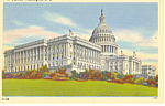 US Capitol Washington, DC Postcard