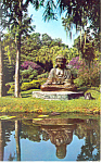 Click here to enlarge image and see more about item p14919: Cypress Gardens,FL, Buddha Kami Kura Postcard