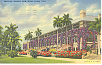 Click here to enlarge image and see more about item p14929: Hialeah Park Miami FL Jockey Club Postcard p14929 1940